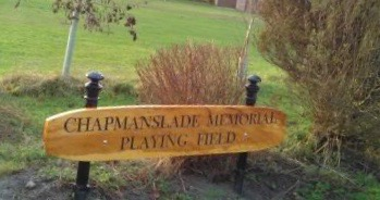 Playing Field sign